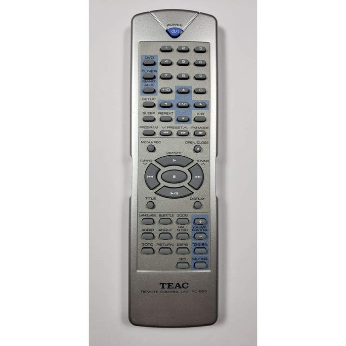 Teac RC-866 Audio System Remote Control - Remote Control