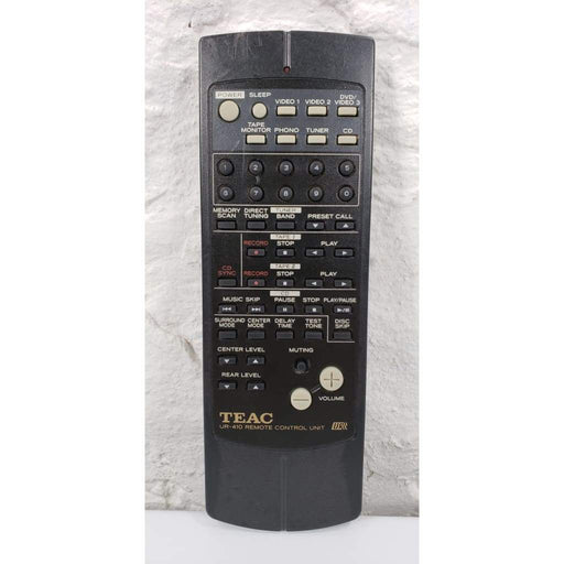 Teac UR-410S Audio Remote Control for AGV8500 AGV8525 - Remote Control