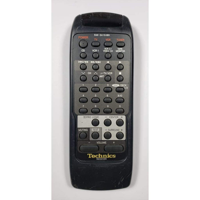 Technics RAK-SA164WH Audio Remote for SA-GX290 SA-GX390 etc. - Remote Control