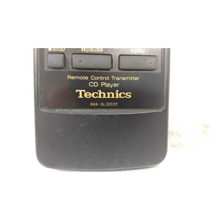 Technics RAK-SL3002P CD Player Remote Control for SLP102 SLP102PK SLP370 - Remote Control