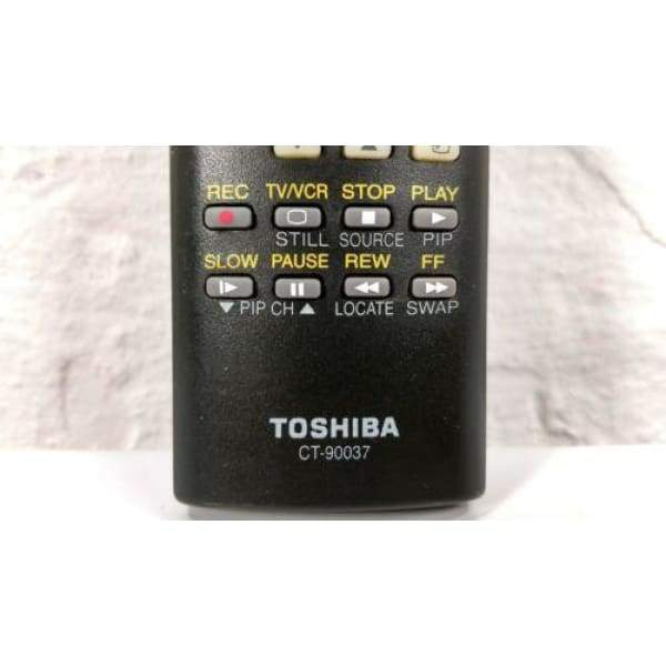 Toshiba CT-90037 TV Remote for 27A50 27A60 27AF41 27AF42 32A12 32A41 - Remote Controls