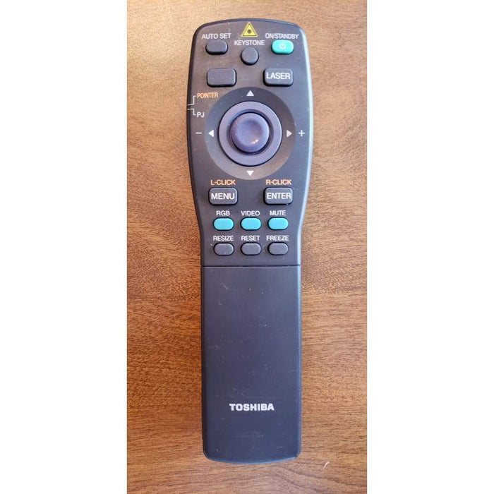 Toshiba CT-90063 Projector Remote Control w/ Laser Pointer - Remote Control