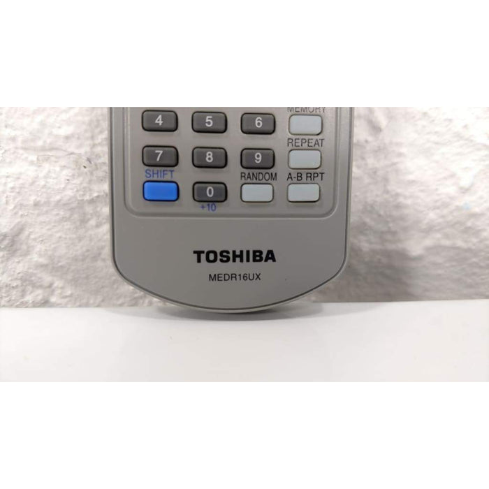 Toshiba MEDR16UX DVD Player Remote Control - Remote Control