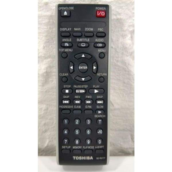 Toshiba SE-R0177 DVD Remote Control for SD3980 SDK750 SKD750SU2 SD3980SC2 - Remote Controls