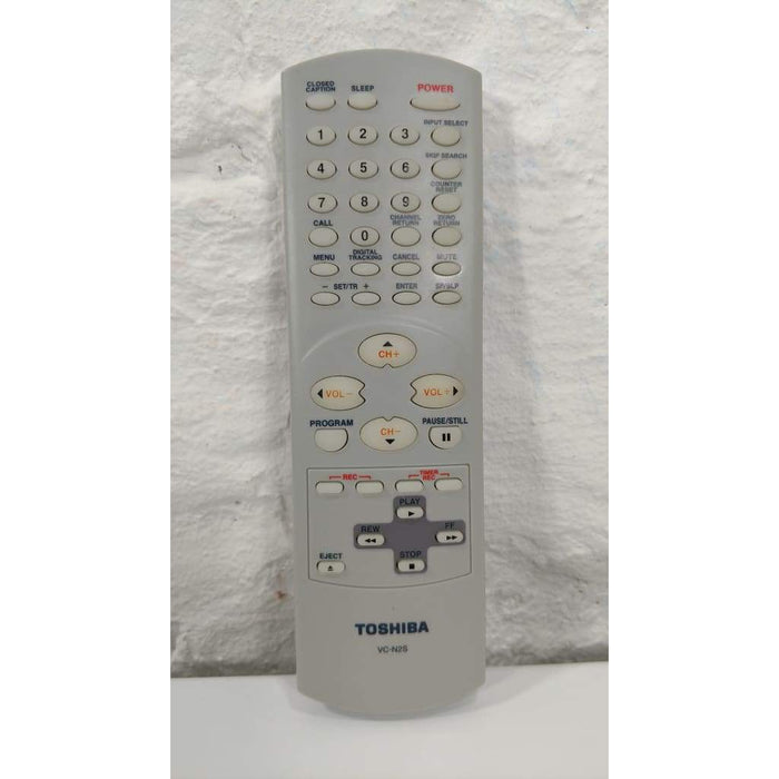 Toshiba VC-N2S TV VCR Remote Control for MV13N2 MV19N2 - Remote Control