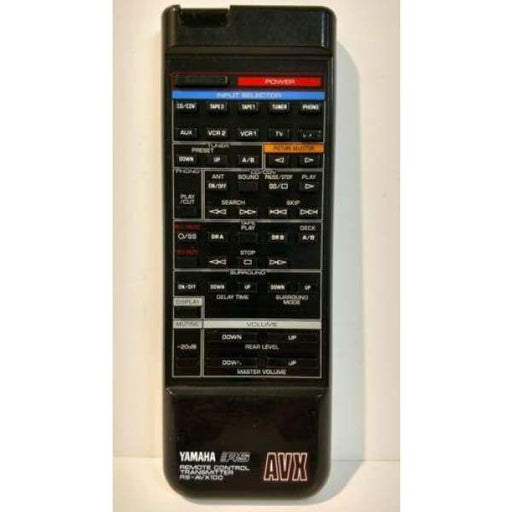Yamaha RS-AVX100 AUdio System Remote Control - Remote Controls