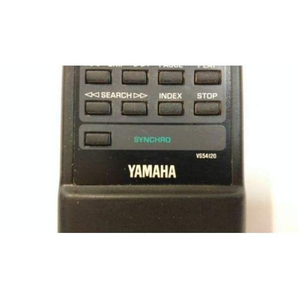 Yamaha VS54120 CD Remote Control for CDC-501 CDC-555 CS-R3100 CS-R3200 - Remote Controls