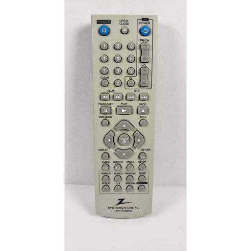 Zenith 6711R1N210A DVD Player Remote Control - Remote Control