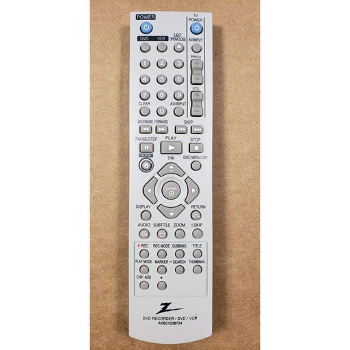 Zenith AKB31238704 DVD/VCR Combo Remote Control