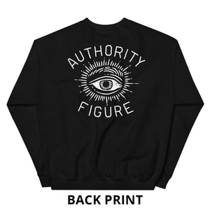 Authority Figure Sweatshirt - Sweatshirt - Sportsball Supply Co.