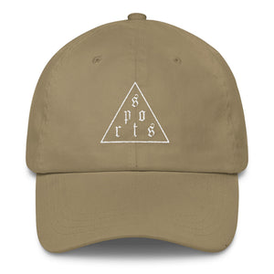 Triforce Dad Cap (White Thread) - Hat - Sportsball Supply Co.