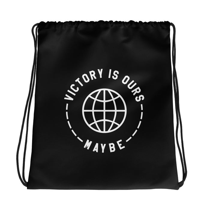 Victory Is Ours Maybe - Drawstring Bag - Goodies - Sportsball Supply Co.
