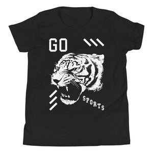 Go Sports Tiger Head Youth T-Shirt