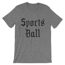 Sports Ball Blackletter Unisex Tee - T-Shirt - Sportsball Supply Co.