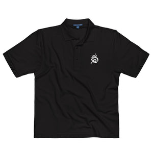S Embroidered Polo Shirt - T-Shirt - Sportsball Supply Co.