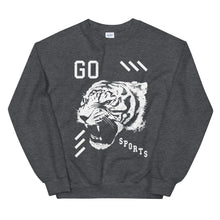 Go Sports Tiger Head Sweatshirt -  - Sportsball Supply Co.