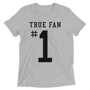 True Fan #1 Ultimate Sports Tri-blend Tee - T-Shirt - Sportsball Supply Co.