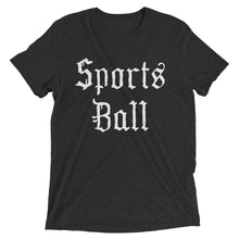 Sports Ball Whiteletter - Triblend Tee - T-Shirt - Sportsball Supply Co.