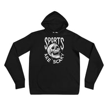 Sports Are Scary Hoodie - Sweatshirt - Sportsball Supply Co.