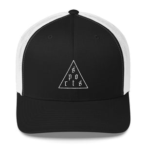 Triforce Trucker Cap - Hat - Sportsball Supply Co.
