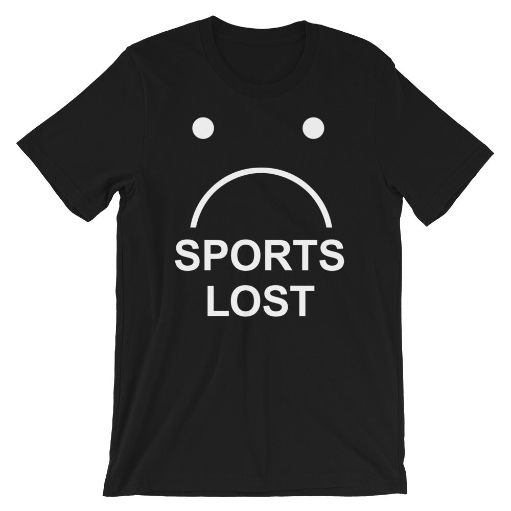 Sports Lost - Unisex Tee - T-Shirt - Sportsball Supply Co.