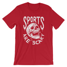 Sports Are Scary - Unisex Tee - T-Shirt - Sportsball Supply Co.