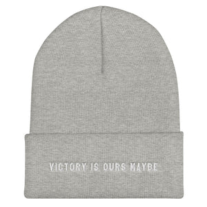 Victory Is Ours Maybe Beanie - Hat - Sportsball Supply Co.