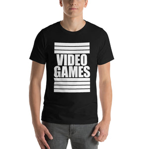 Video Games - Unisex Tee - T-Shirt - Sportsball Supply Co.