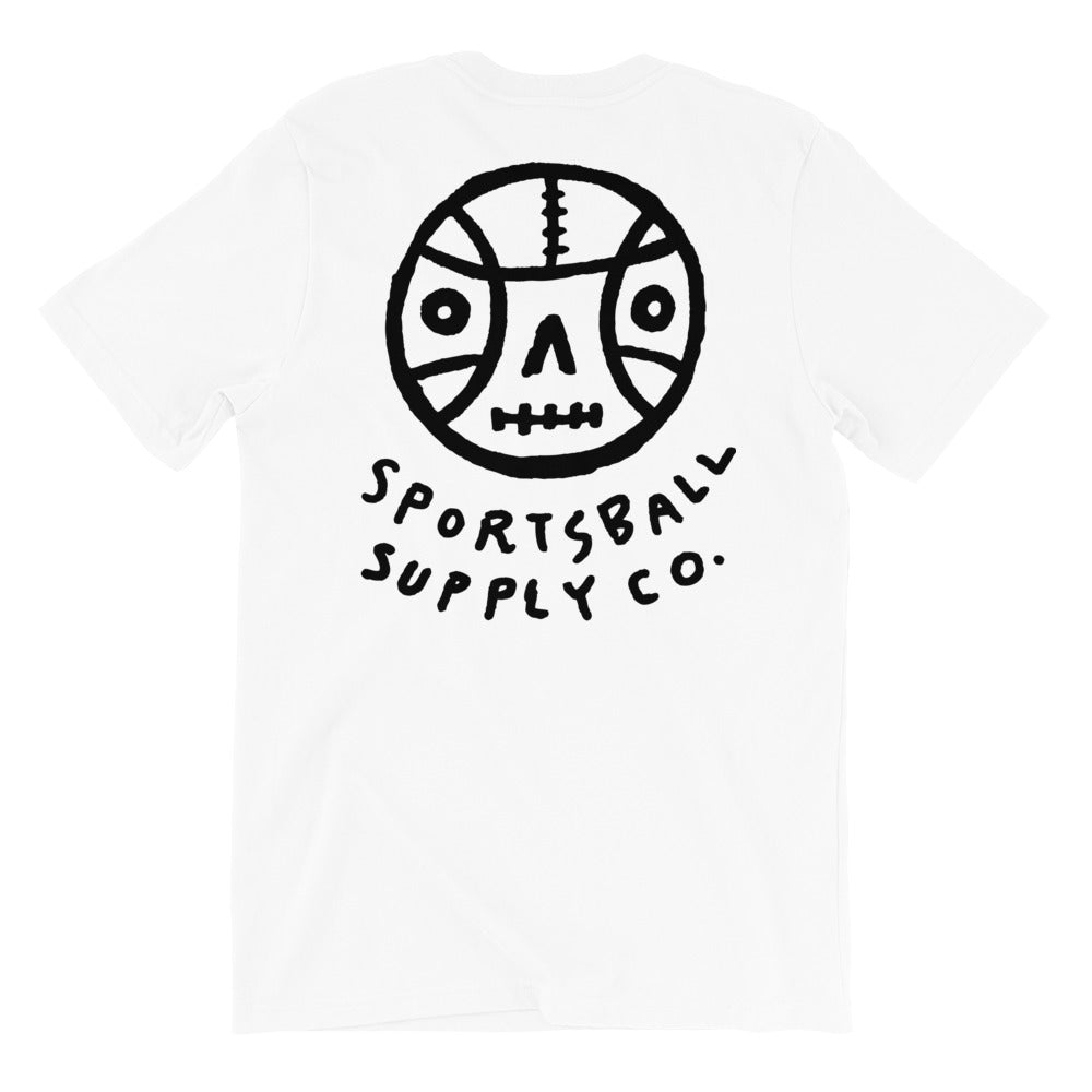 Death Ball - Back Unisex Tee - T-Shirt - Sportsball Supply Co.