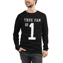 True Fan #1 Unisex Long Sleeve Tee -  - Sportsball Supply Co.