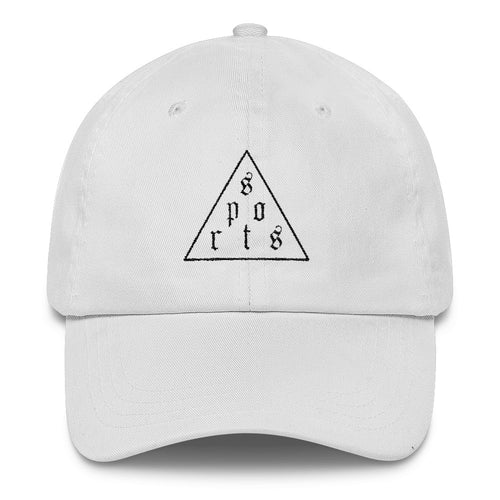 Triforce Classic Dad Cap (Black Thread) - Hat - Sportsball Supply Co.