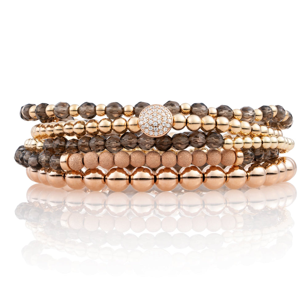Armbanden stack - Smoky Quartz I