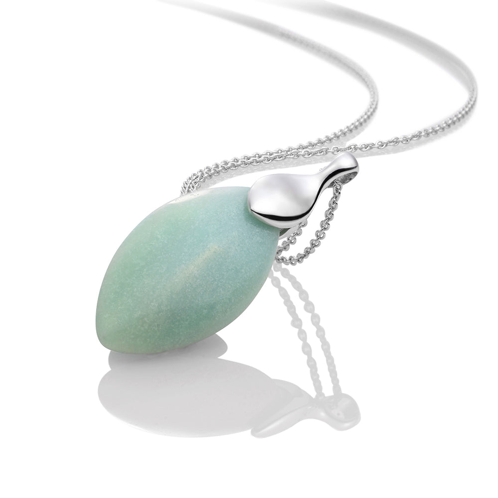 Amazonite Leaf set