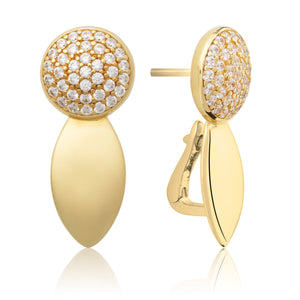 The Core Crystal Gold plated - Sparkling Jewels