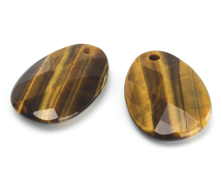 Tiger Eye - Big Bang eardrops - Sparkling Jewels