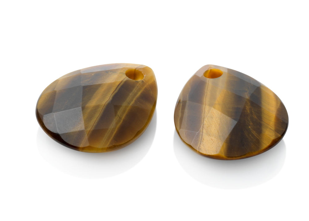 Tiger Eye - Afterglow eardrops - Sparkling Jewels