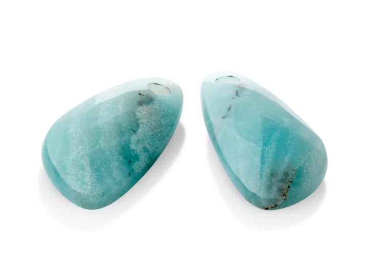 Amazonite - Supernova eardrops - Sparkling Jewels