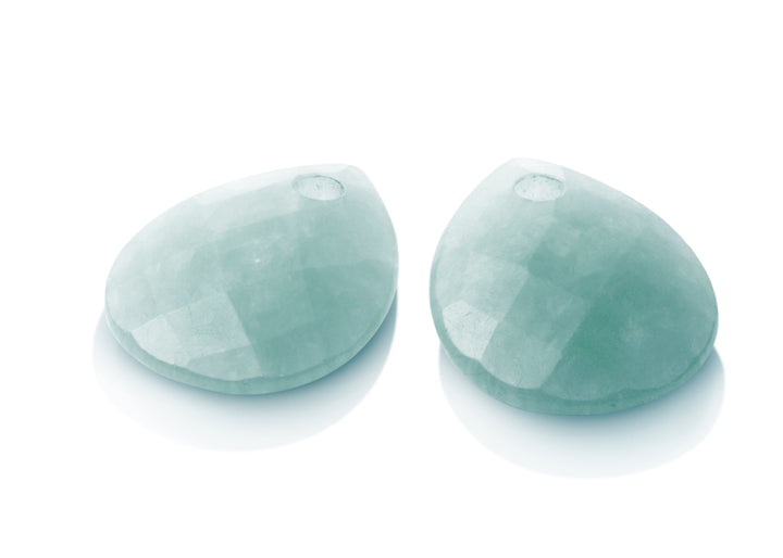 Amazonite - Afterglow eardrops - Sparkling Jewels