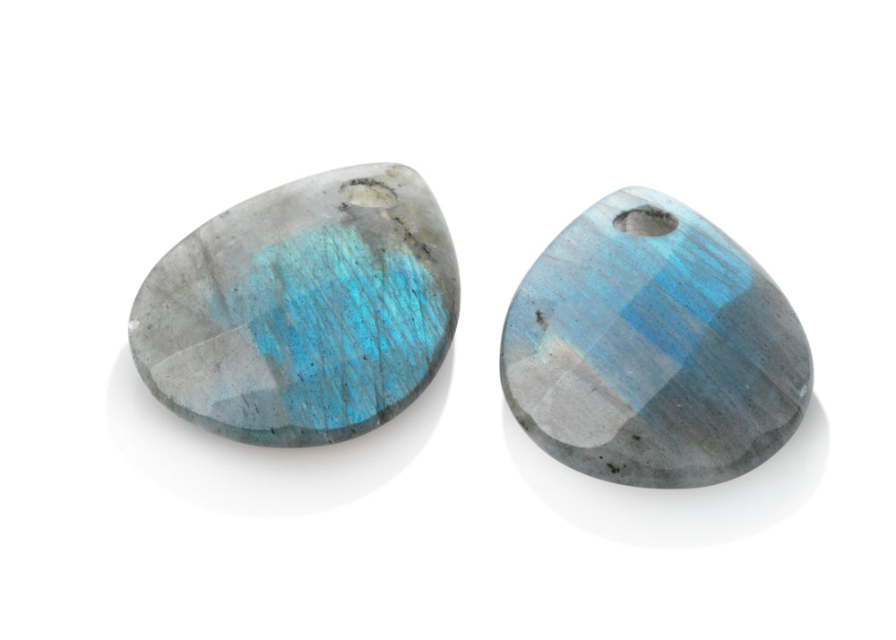 Labradorite - Afterglow eardrops - Sparkling Jewels