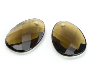Smokey Quartz - Big Bang eardrops - Sparkling Jewels