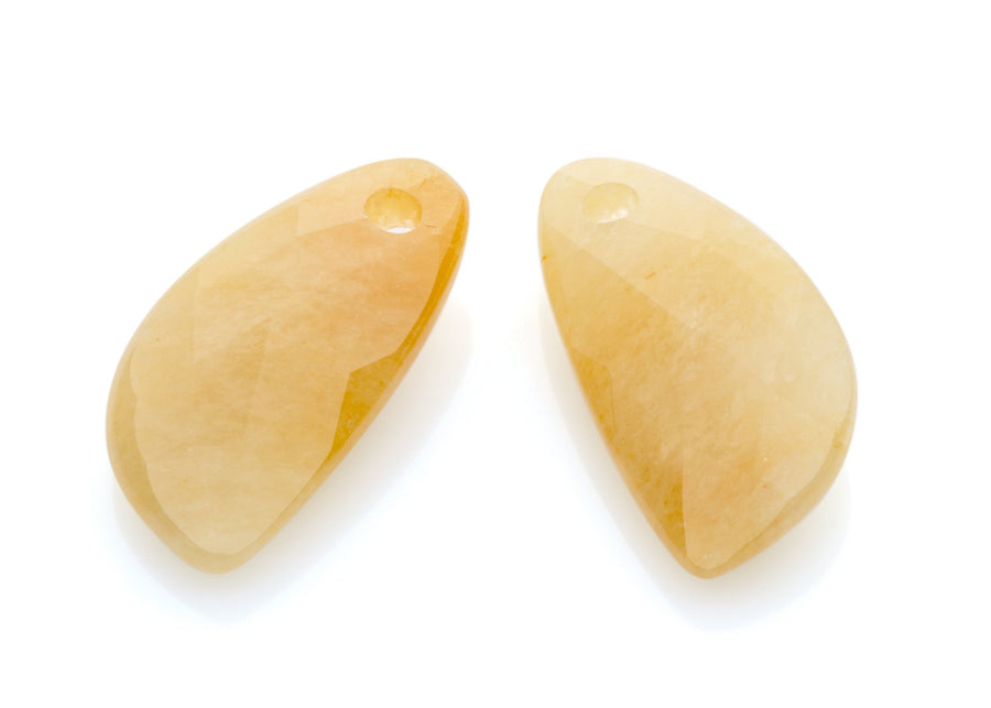 Yellow Jade - Supernova eardrops - Sparkling Jewels