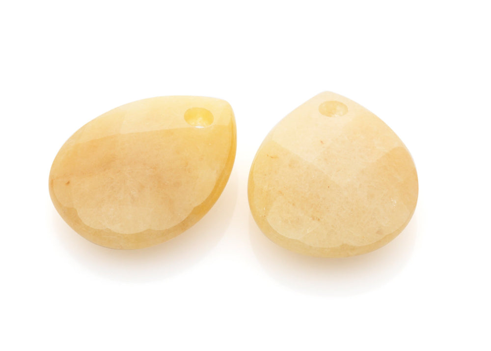 Yellow Jade - Afterglow eardrops - Sparkling Jewels