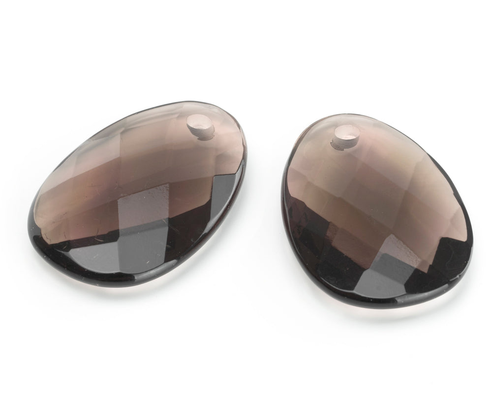 Grey Agate - Big Bang eardrops - Sparkling Jewels