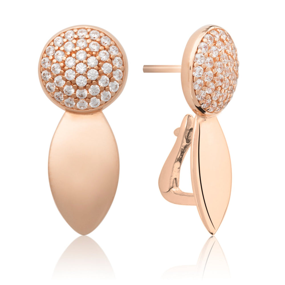 The Core Crystal Rose Gold plated - Sparkling Jewels