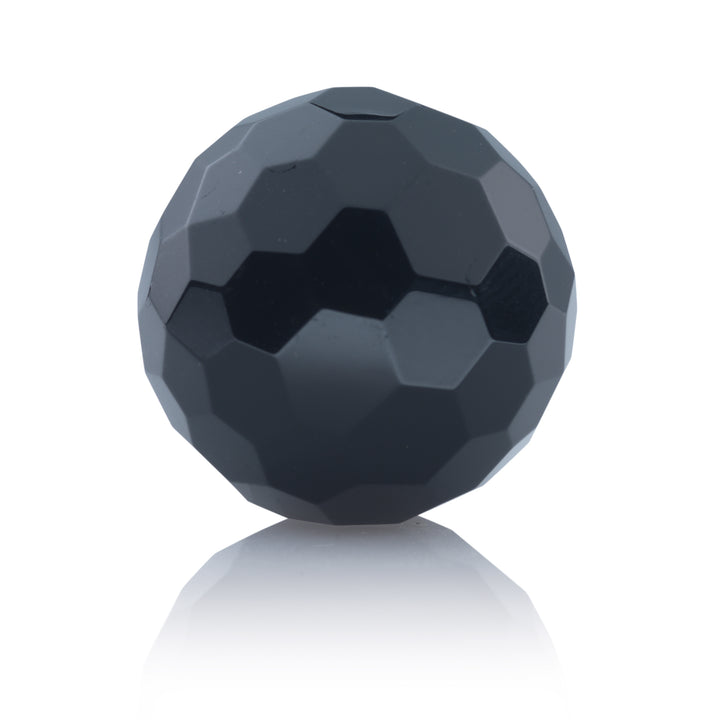Onyx - 20mm Facet - Sparkling Jewels