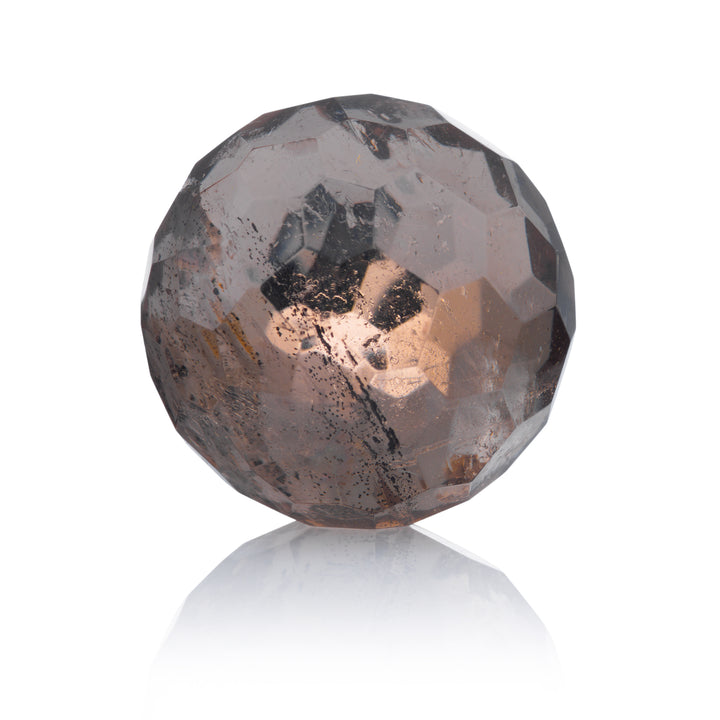 Smokey Quartz - 14mm Facet - Sparkling Jewels