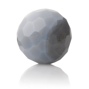 Grey Agate - 14mm Facet - Sparkling Jewels