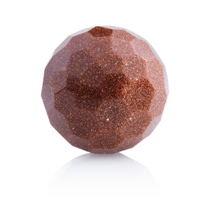 Brown Goldstone - 20mm Facet - Sparkling Jewels