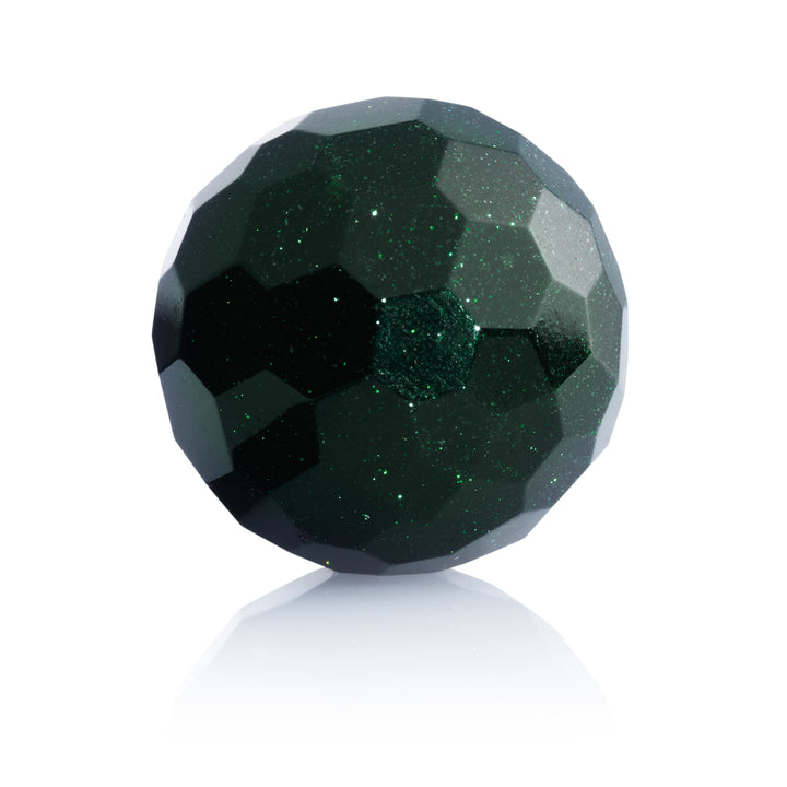 Green Goldstone - 14mm Facet