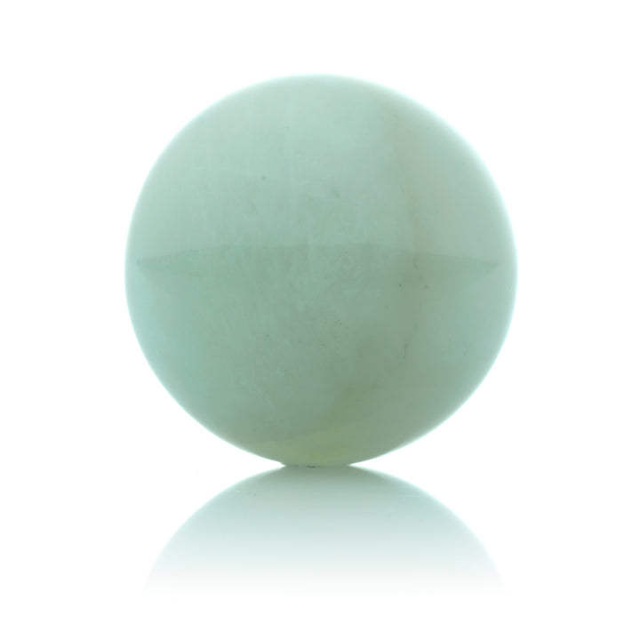 Jade Green - 20mm Polished - Sparkling Jewels